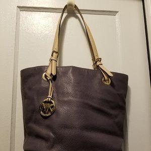 Michael Kors leather handbag tote